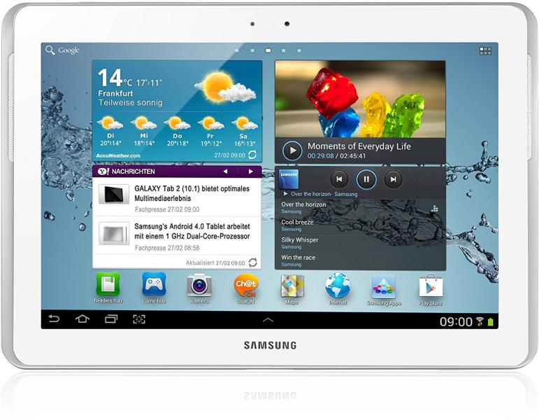 Android Tablet, weiss