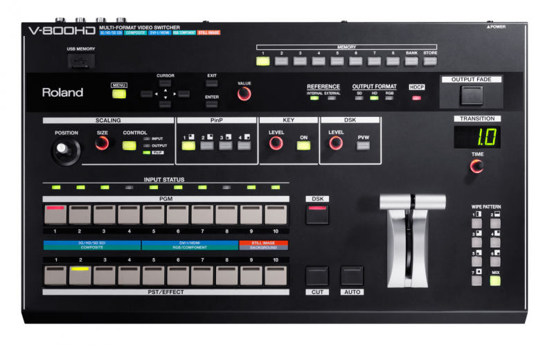 Roland V-800HD Multi-Format Live Video Switcher