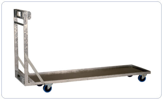 stage pedestal dolly | for 200x100cm