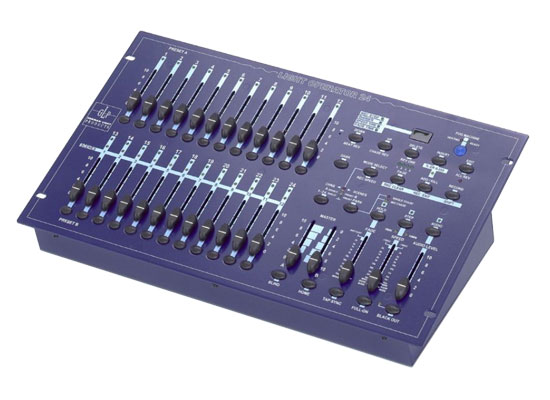 GLP Lightoperator 24 Lighting Mixer, 12/24 Channel, DMX512, incl. Power Supply