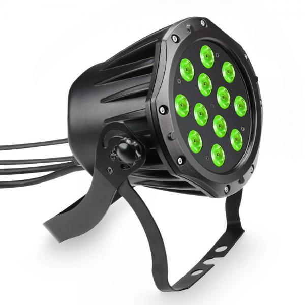 LED Cameo Outdoor PAR TRI 12 IP 65 - 12 x 3 W RGB, LED Scheinwerfer