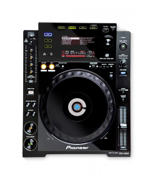 Pioneer CDJ 900, CD Player, Multi-Format Performance DJ-Player
