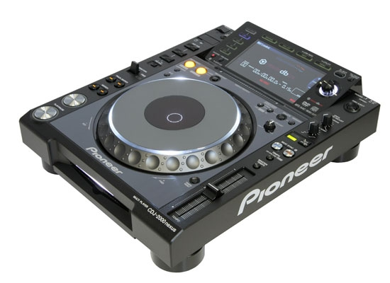 Pioneer DJ CDJ-2000NXS Multi-Format-Player