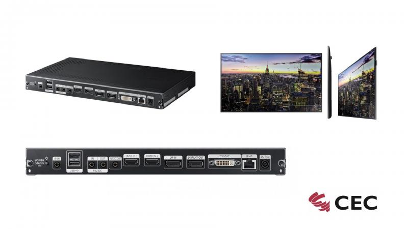 Samung Set Back Box SBB-SSF Signage Player