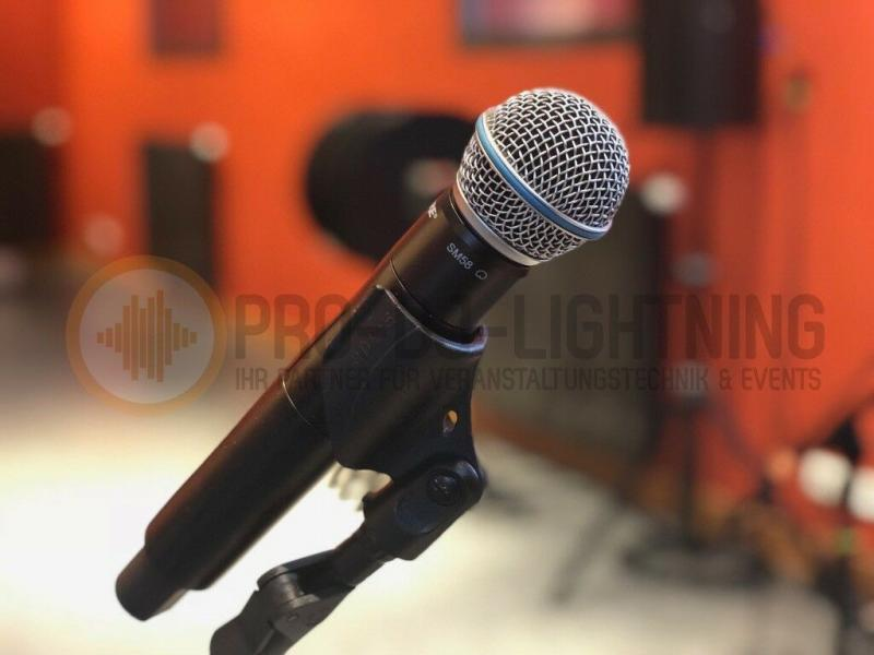 Shure SM58 QLXD24 Funkmikrofon