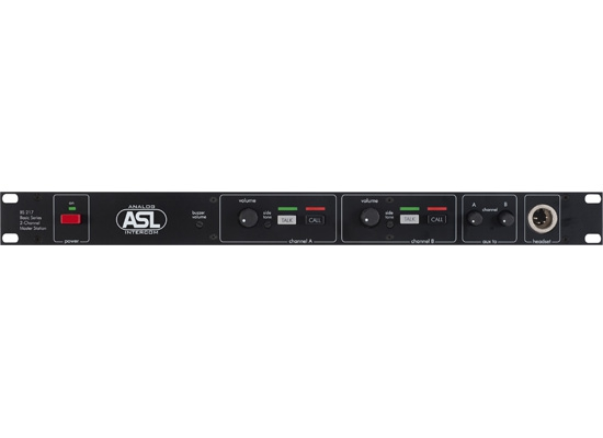 ASL Intercom BS 217 Master Station inklusive Beltpacks und Headsets