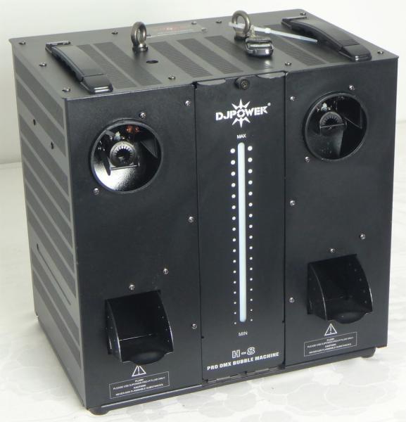 Seifenblasenmaschine DJ-Power H-8