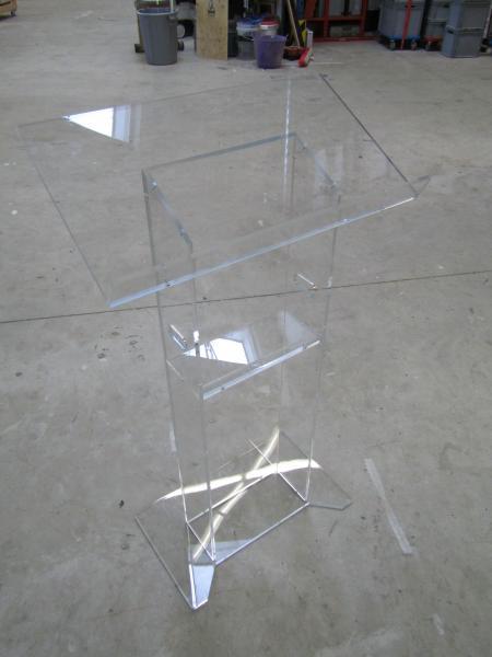 Plexiglas Rednerpult