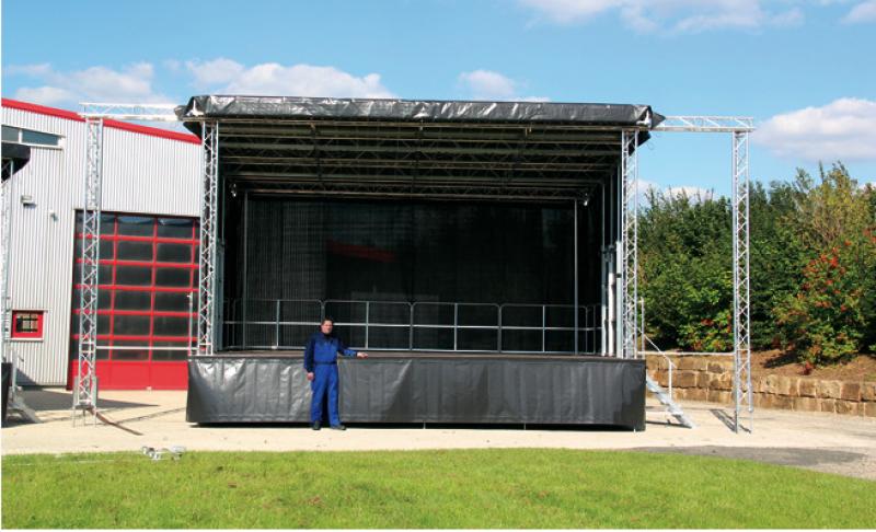 Stagemobil XL – Bühnentrailer 8×6,10m