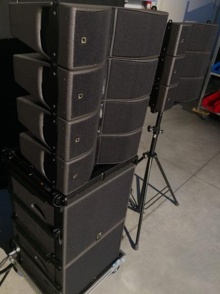 L-Acoustics KIVA II, SB15, SB18, LA4X, LA8