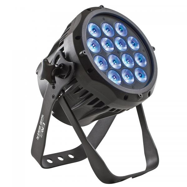 Expolite TourLED 42 CM MK II, [IP67 / 16° / 14 x FullColor-LED mit je 1W R+G+B / Floorspot, Schuko in/out]