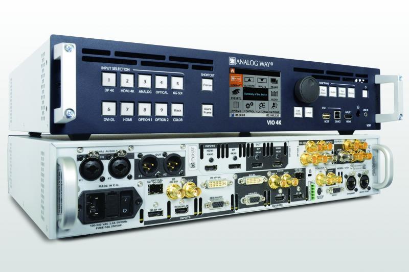 Analog Way VIO V701 4K Multiformat-Scaler