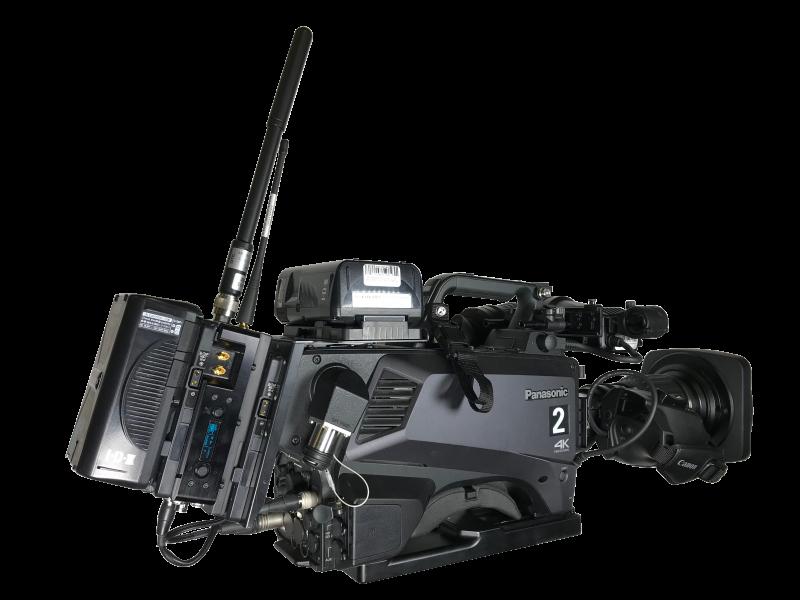 DTC Domo OBTX camera broadcast transmitter