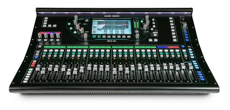Allen&Heath SQ-6 Digitalmischpult 48 Ch