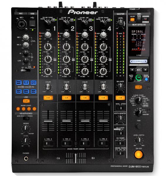 Pioneer DJM 900 Nexus DJ-Desk
