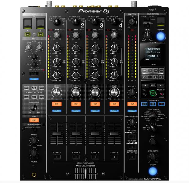 Pioneer DJM 900 NXS2 DJ-Desk