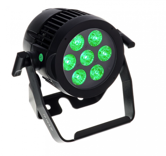 LED Outdoorscheinwerfer Hex7IP