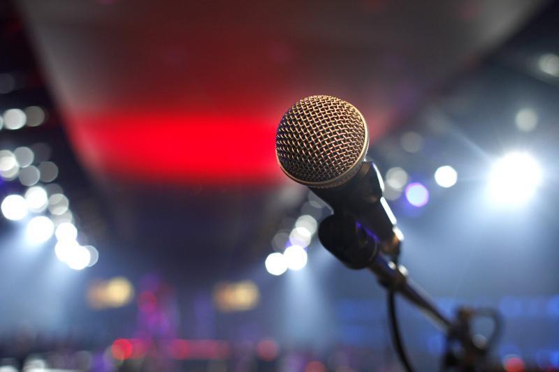 Karaokeanlage mit Moderator