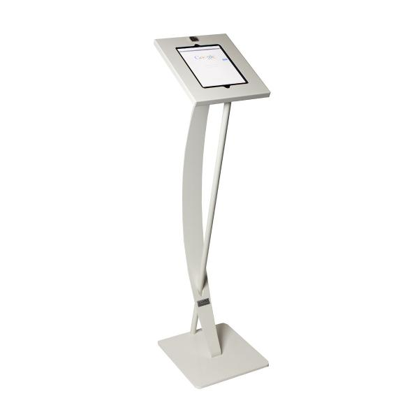 TABBOY FLOORSTAND CURVED (WHITE)