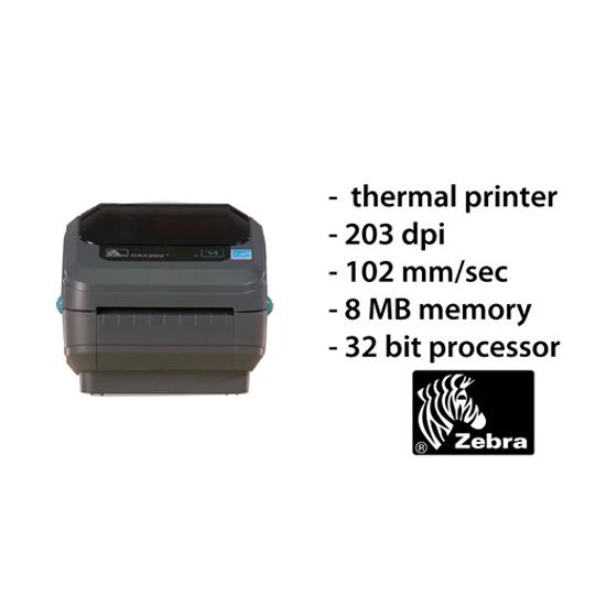 Zebra thermal labelprinter GK420D USB