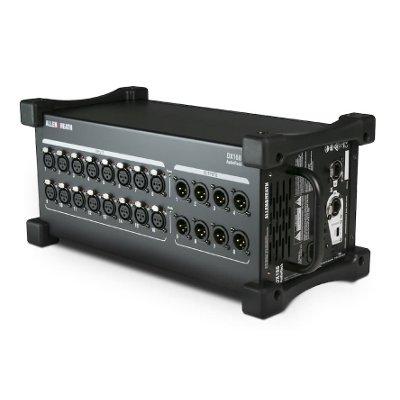 """Allen & Heath DX168 Audio Rack im 19"""" Case 4HE"""