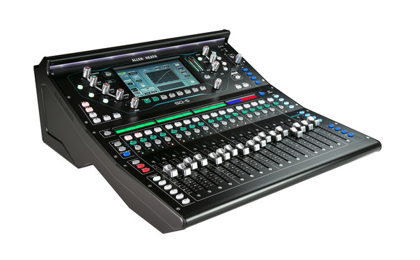 Allen & Heath SQ-5 im Tourcase