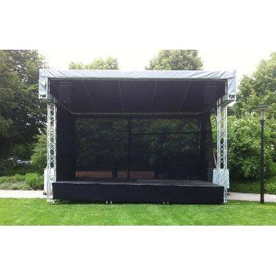 Prolyte Stage Pultdachbühne 6x4 Meter Spielfläche