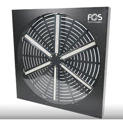 RGB Fan 70x70 cm DMX