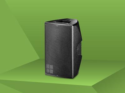 E-6 Lautsprecher; schwarz