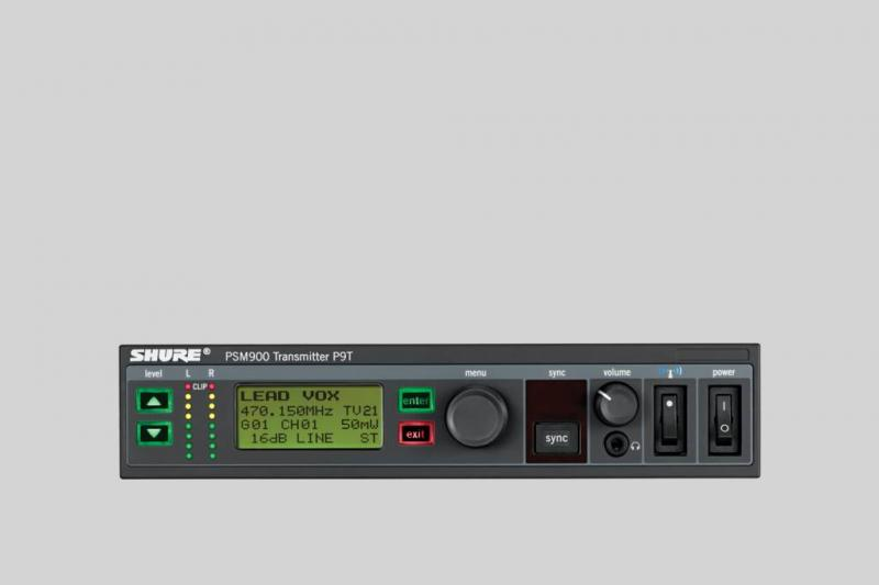"Set InEar Monitorsystem UHF ""SHURE PSM-900"