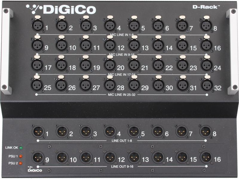 DiGiCo D-Rack 32/16 2PSU