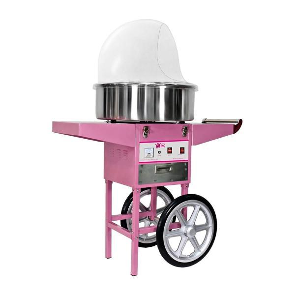 Zuckerwattemaschine Gastro pink