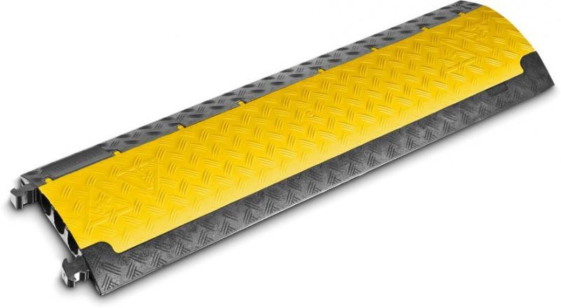 Defender Mini gelb Kabelbrücke