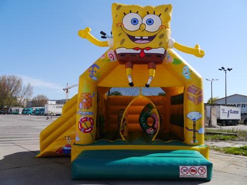 Spongebob Hüpfburg