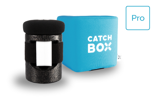 Catchbox Pro Catch Box blau