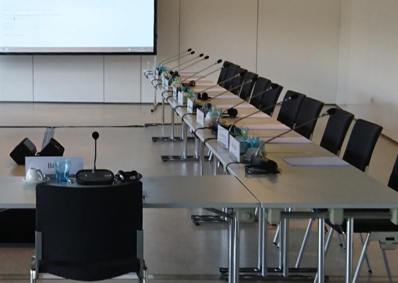 Diskussionsanlage Mikrofonkette Tischsprechstellen