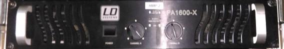 Endstufe LDPA 1600X