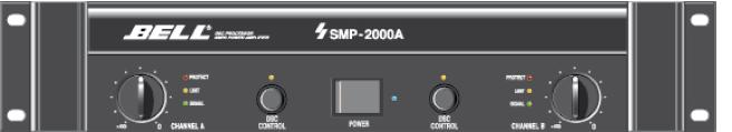 Endstufe Bell SMP 2000A