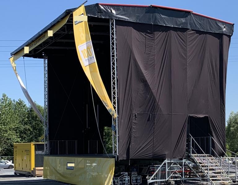 Trailer Bühne Smart Stage 90