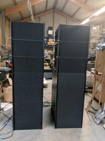 PL-Audio PA LA210 mit B3 Subs