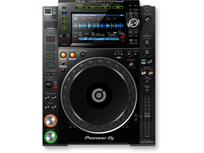 DJ Single CD-Player Pioneer CDJ-2000NXS2