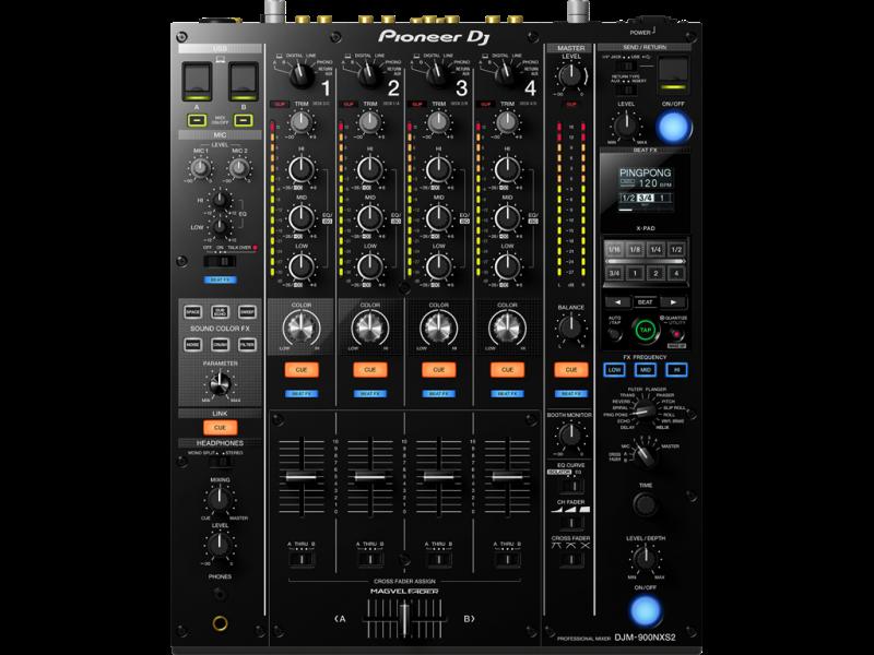 DJ Set - Pioneer DJM 900 NXS2, Pioneer CDJ 2000 NXS2