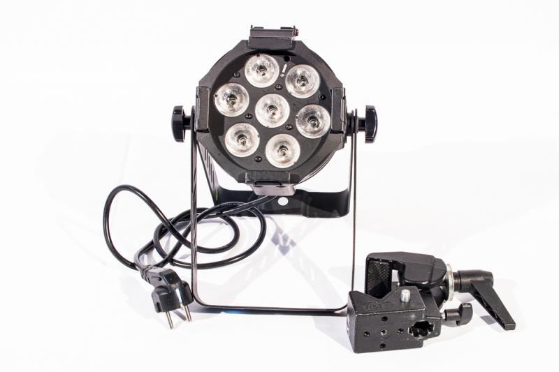 Litecraft Mini PAR AT10 7x10W BK