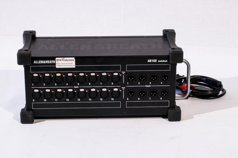 Allen&Heath GLD-AB168 AudioRack Stagebox